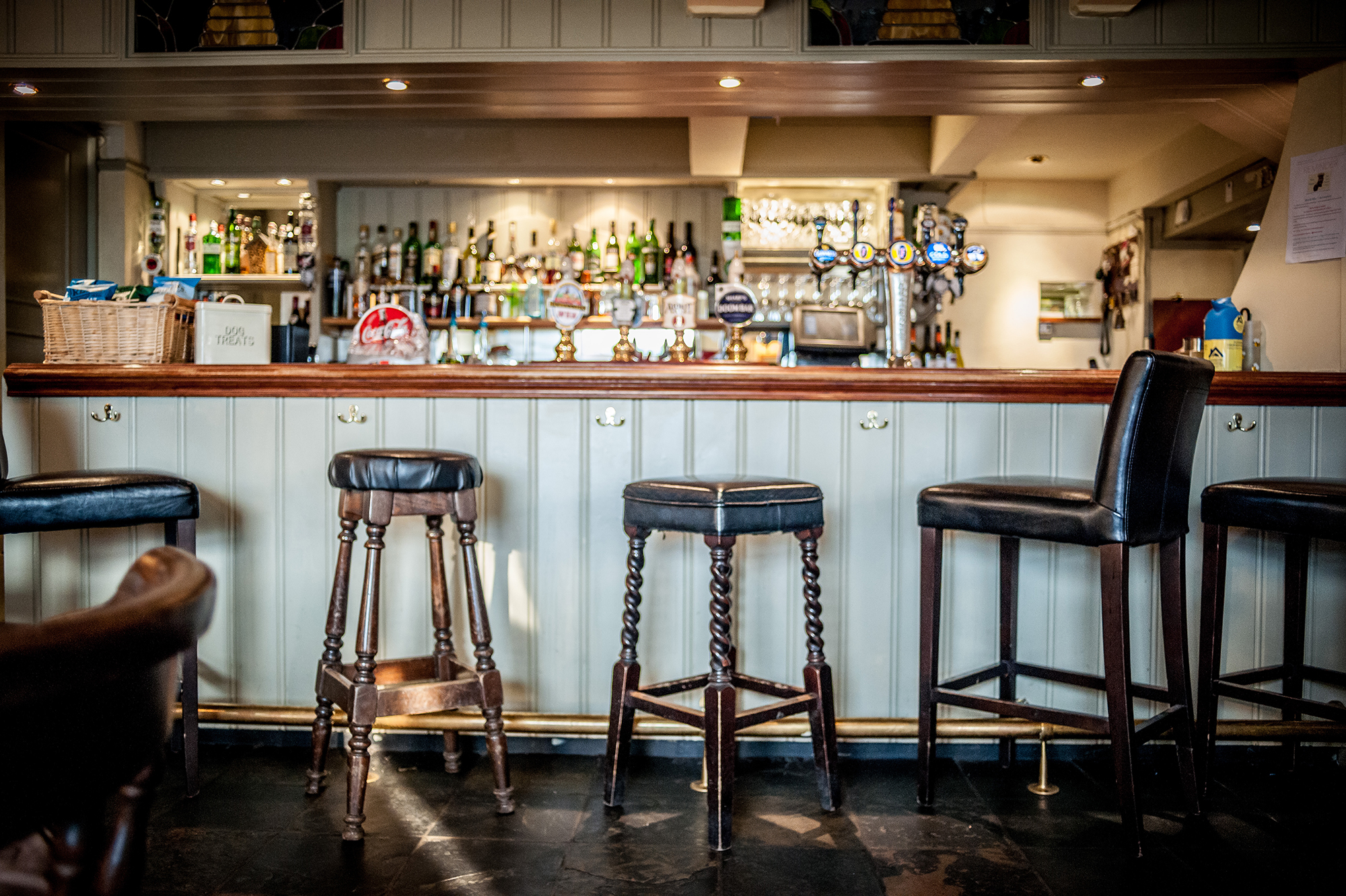 Bar at The Beehive Pub