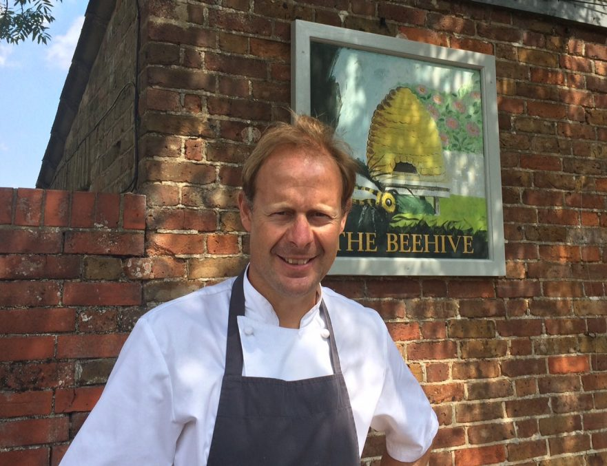 Dominic Chapman, Chef, The Beehive Restaurant & Pub
