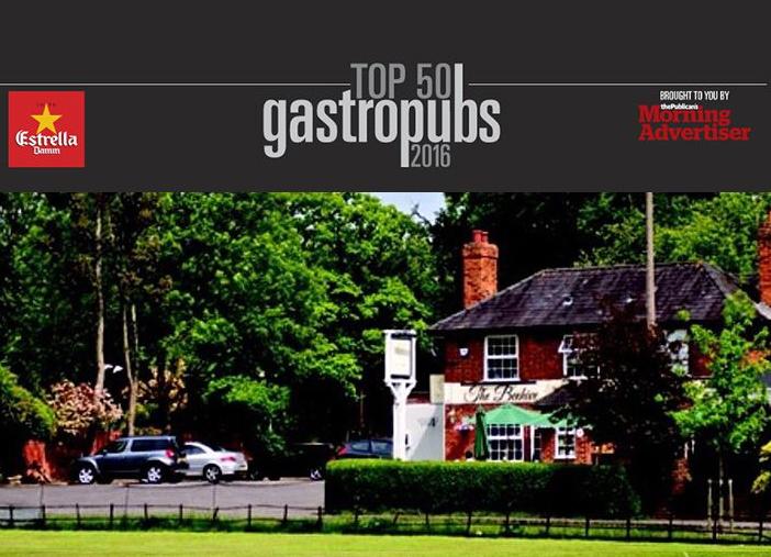 Top 50 UK Gastropubs 2016