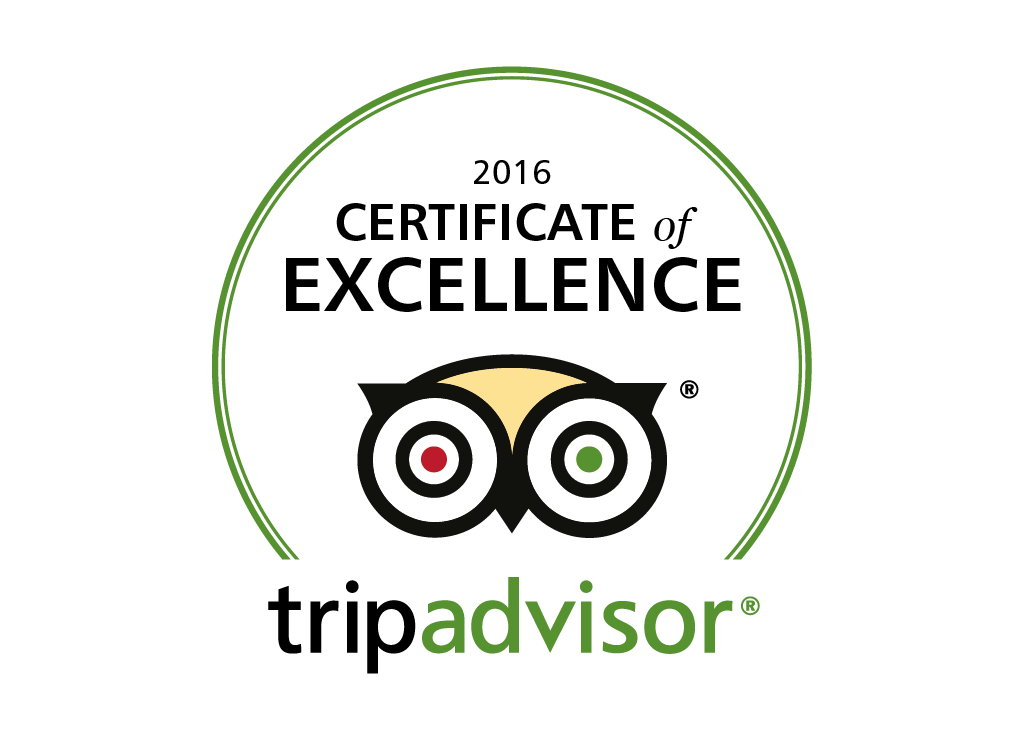 The Beehive Received TripAdvisor Certificate of Excellence 2016