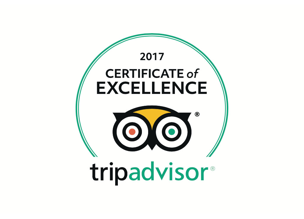 The Beehive Received TripAdvisor Certificate of Excellence 2017