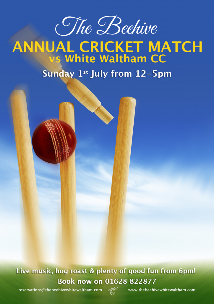The Beehive Annual Cricket Match vs White Waltham CC