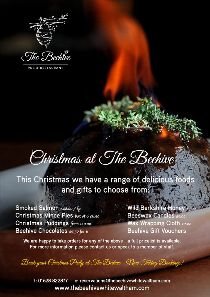 Christmas at the Beehive Restaurant & Pub